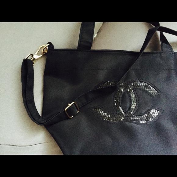 d20a13a077b8da Bags | Chanel Precision Handbag Cosmetic Tote Bag | Poshmark